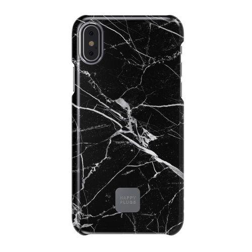 Happy Plugs Black Marble iPhone X