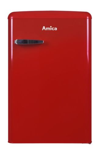 AMICA VT 862 AR, červená jednodveřová chladnička