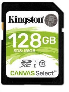 Kingston SDXC Canvas Select 128 GB