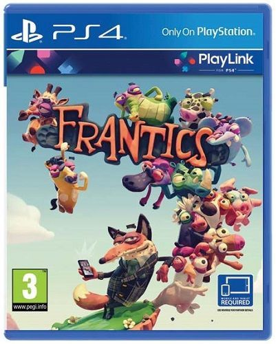 SONY Frantics, PS4 hra_01