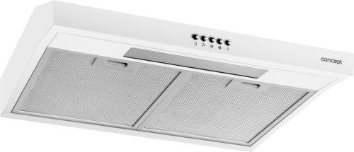 Concept OPP1260wh, bílý podskříňkový odsavač par