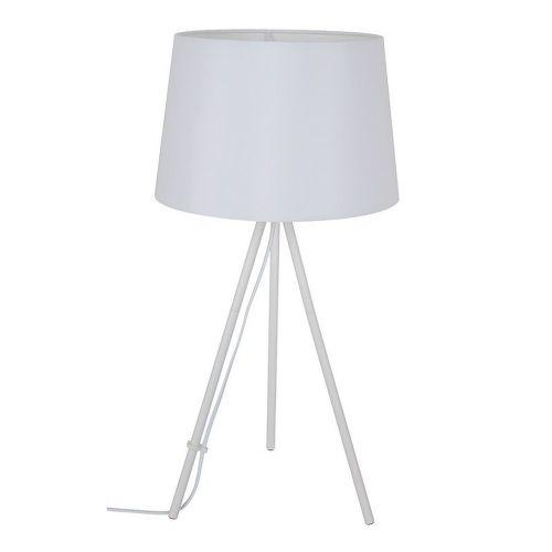 SOLIGHT Milano Tripod, Stolná lampa biela
