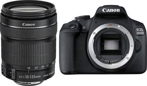 CANON 2000D + 18-135 IS, Zrcadlovka