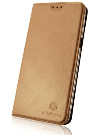 RedPoint Book Magnetic pouzdro pro iPhone 7 a 8, zlaté