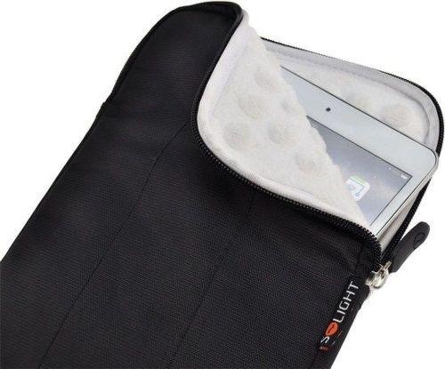 """Solight 1N52 - odolné pouzdro na tablet 8"""" černé"""