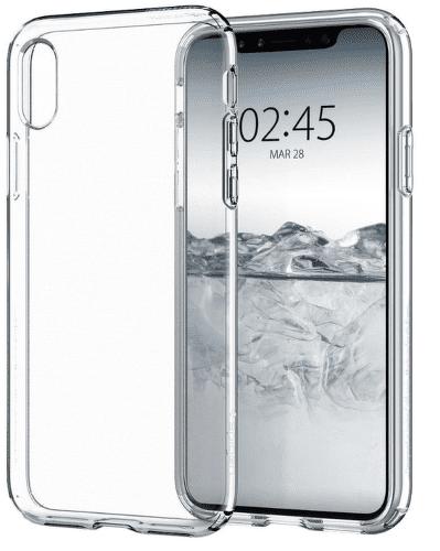 Spigen Liquid Crystal pouzdro pro Apple iPhone X, transparentní
