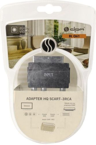 DPM BLQ61, Adaptér SCART-3xCINCH