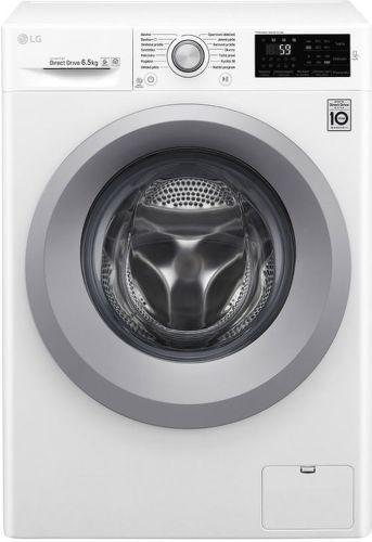 LG F60J5WN4W bílá smart slim pračka plněná zepředu