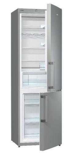 Gorenje RK 6192 AX - šedá kombinovaná chladnička