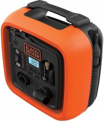 Black&Decker ASI400 Kompresor 12V 11 bar