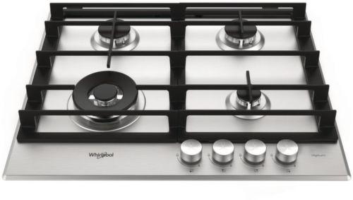 WHIRLPOOL GMW 6422/IXL EE, nerezová plynová varná deska