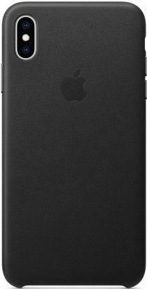 Apple kožené pouzdro pro Apple iPhone XS Max, černá