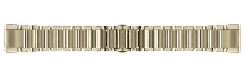 Garmin QuickFit 20 kovový řemínek, zlatý