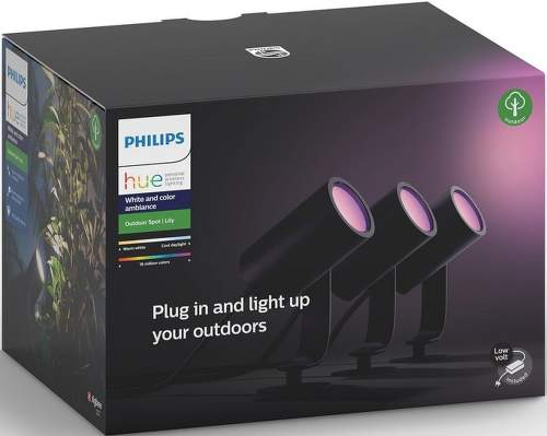 PHILIPS Hue Lily spot 3x8W