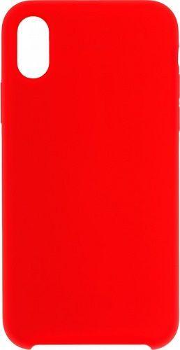 Winner Liquid silikonové pouzdro pro Apple iPhone Xs Max, červené
