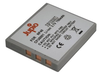 Jupio NP-40, Náhradní baterie