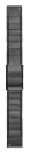 Garmin QuickFit 22 titanový řemínek, tmavě šedý