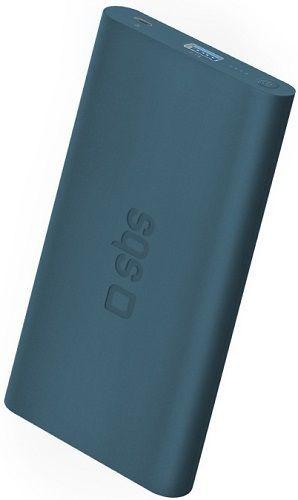SBS powerbanka 5000 mAh, modrá