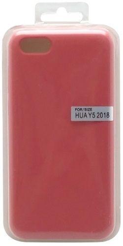 Mobilnet silikonové pouzdro pro Huawei Y5 2018, červená