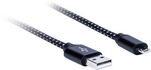 AQ Premium PC64018 USB 2.0 - micro USB kabel 1,8m, černá
