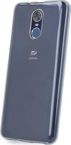 Silikonové pouzdro pro myPhone Prime 18x9, transparentníSilikonové pouzdro myPhone pro myPhone Prime 18x9, transparentní