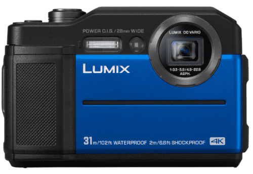 Panasonic Lumix DC-FT7 modrý