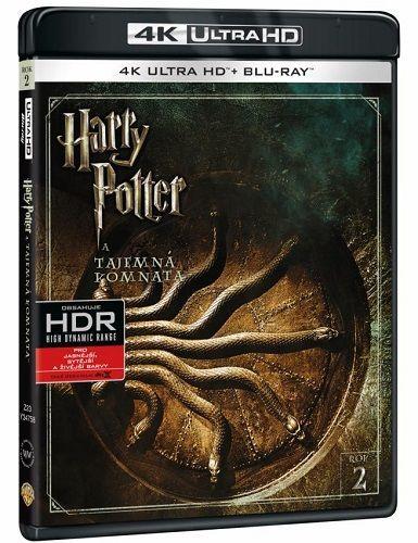 Harry Potter a Tajemná komnata - Blu-ray + 4K UHD film