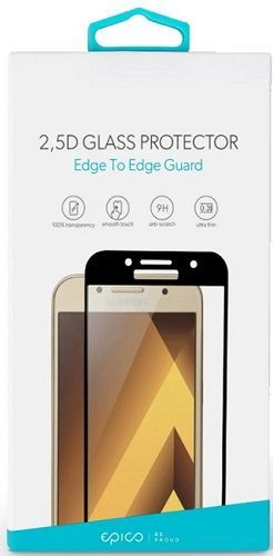 Epico 2,5D tvrzené sklo pro Samsung Galaxy A9 2018, černá