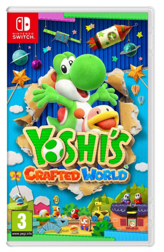 Yoshi's Crafted World - Nintendo Switch hra