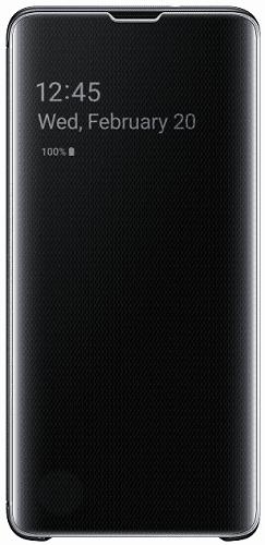 Samsung Clear View pouzdro pro Samsung Galaxy S10+, černá