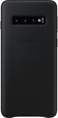 Samsung Leather Cover pro Samsung Galaxy S10, černá
