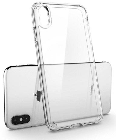 Spigen Ultra Hybrid pouzdro pro Apple iPhone Xs Max, transparentní