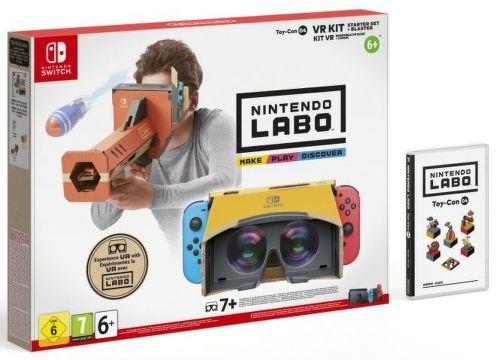 Nintendo Labo VR Kit Starter Set + Blaster