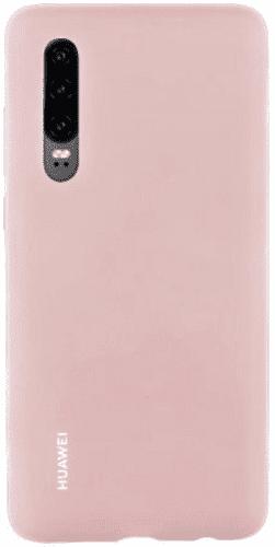 Huawei Silicone Car kryt pro Huawei P30, růžová