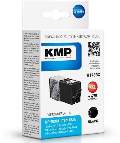 KMP HP 903 XL (T6M15AE) černá