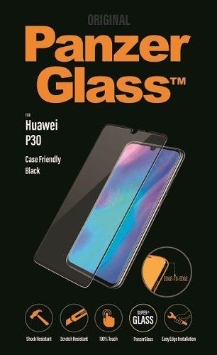 Panzerglass tvrzené sklo pro Huawei P30, černá