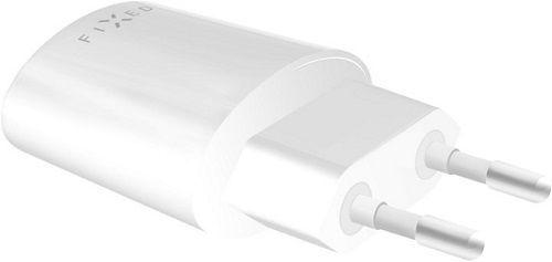 Fixed USB síťová nabíječka 2,4A, bílá