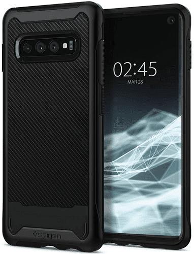 Spigen Hybrid NX pouzdro pro Samsung Galaxy S10, černá