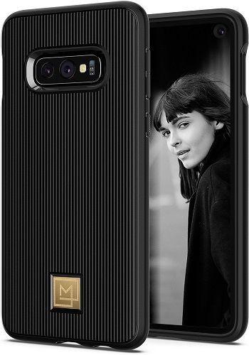 Spigen La Manon Classy pouzdro pro Samsung Galaxy S10e, černá