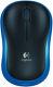 Logitech Wireless Mouse M185 blue - bezdrátová optická myš