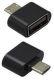 Mobilnet OTG adaptér micro USB / USB černý