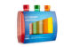 Sodastream Tripack oranžová/červená/zelená náhradní láhve (1l/3ks)