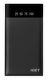 iGet Power B-10000B powerbanka 10 000 mAh, černá