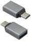 Mobilnet adaptér OTG USB Type C / USB černý