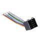 45773 ISO konektor (samec) - volné kabely