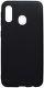Mobilnet silikonové pouzdro pro Samsung Galaxy A20e, černá