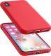 Cellularline Sensation pro iPhone X, červená