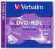 Verbatim DVD+R 8,5GB Dual Layer 8x, 1ks