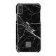 Happy Plugs pouzdro pro iPhone X, Black Marble
