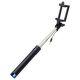 Mobilnet selfie tyč s 3,5 mm konektorem 78 cm, modrá
